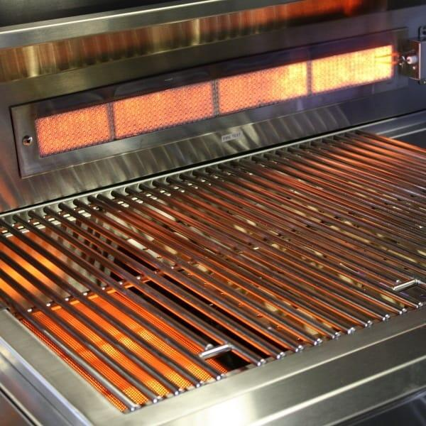 4 Burner Built In Grill by Titan Grills