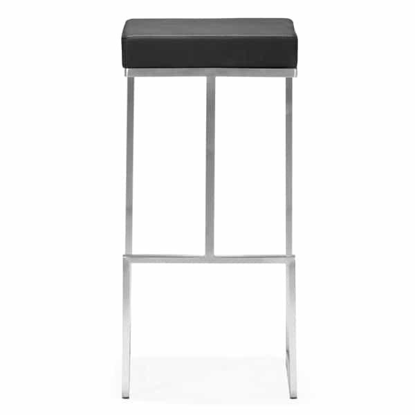 Darwen Bar Chairs - Black by Zuo Modern