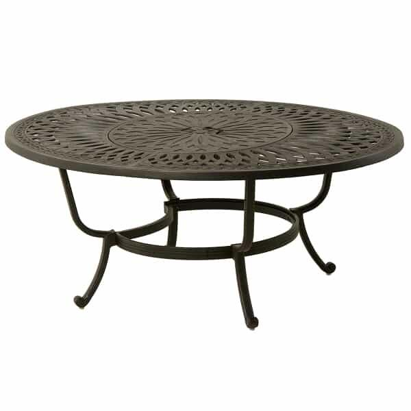 "Berkshire 48"" Round Gas Fire Pit Table by Hanamint"