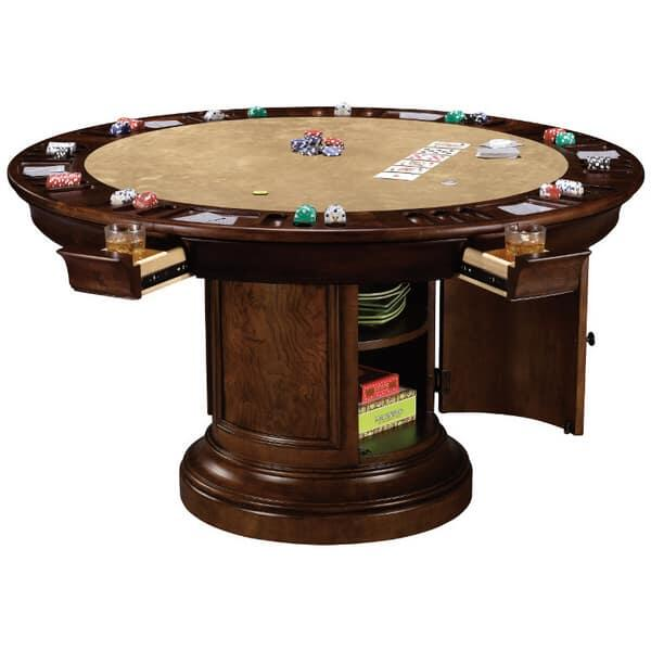 Ithaca Game Table by Howard Miller