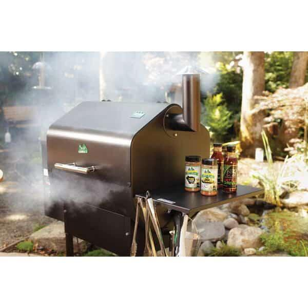 Daniel Boone Stainless Steel Pellet Grill By Green