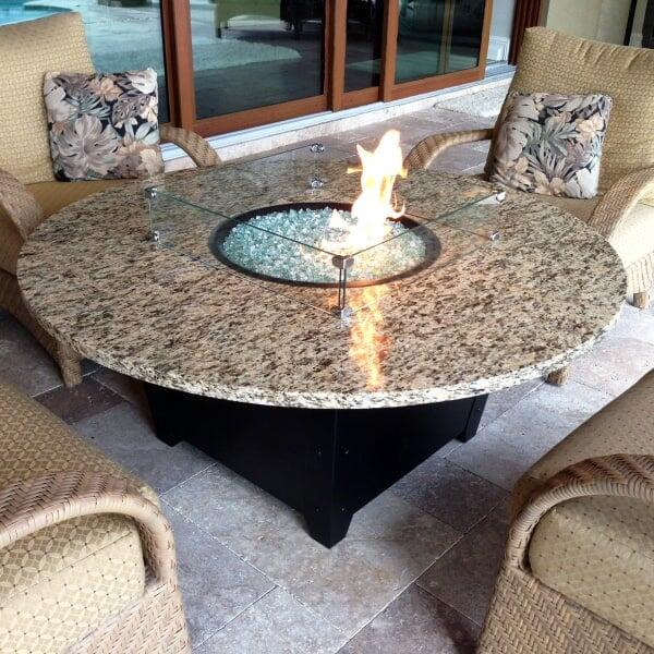 "Naples 54"" Fire Pit Table by Firetainment"