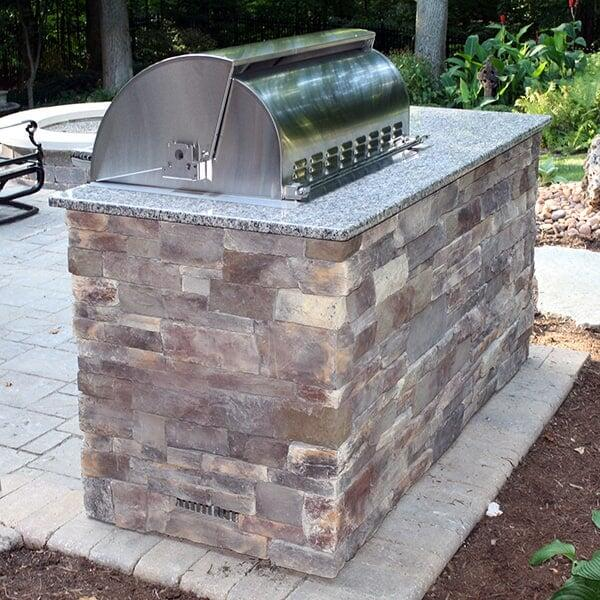 Mathis Grill Island Project by Leisure Select