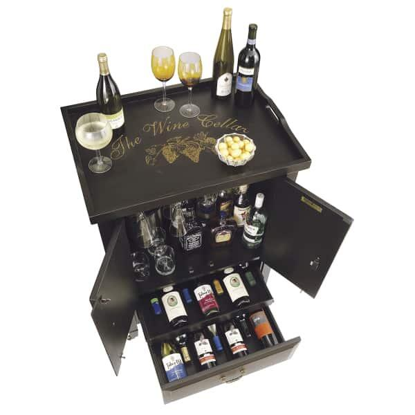 Butler Wine & Bar Cabinet by Howard Miller