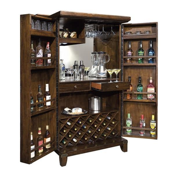 Rogue Valley Wine & Bar Cabinet Base by Howard Miller