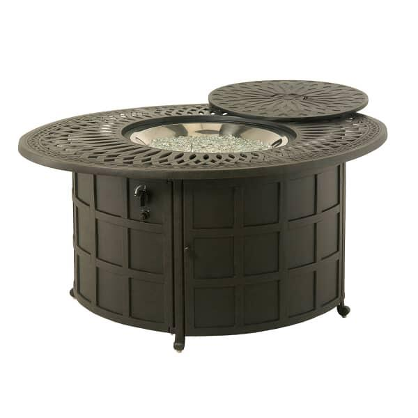 Mayfair Round Enclosed Gas Fire Pit