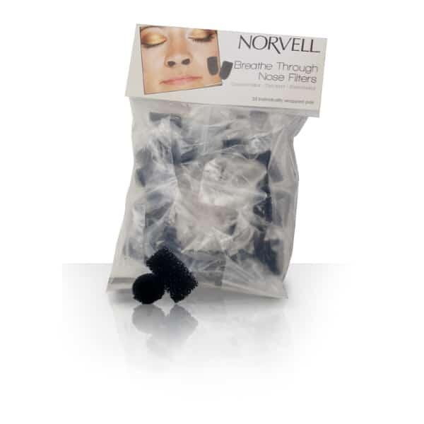 Spray Tanning Nose Filters by Norvell