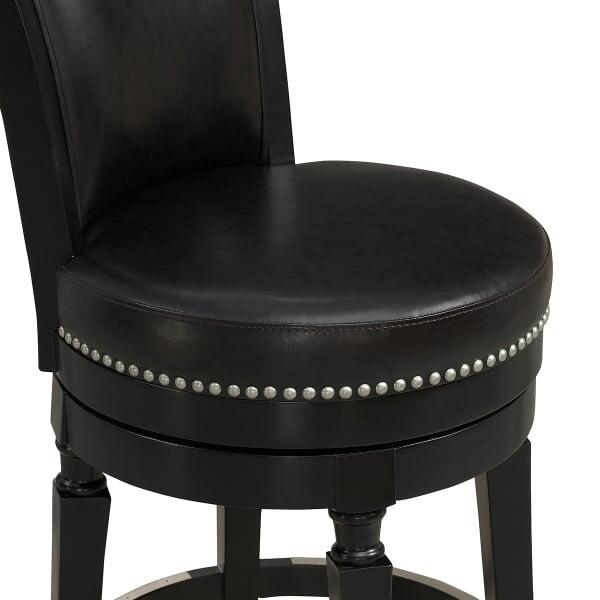 Chelsea Counter Stool Black by American Heritage