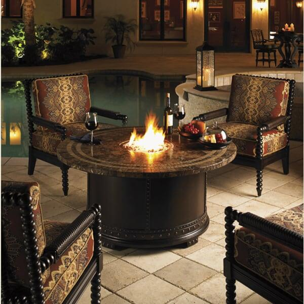 Kingstown Sedona Fire Pit by Tommy Bahama