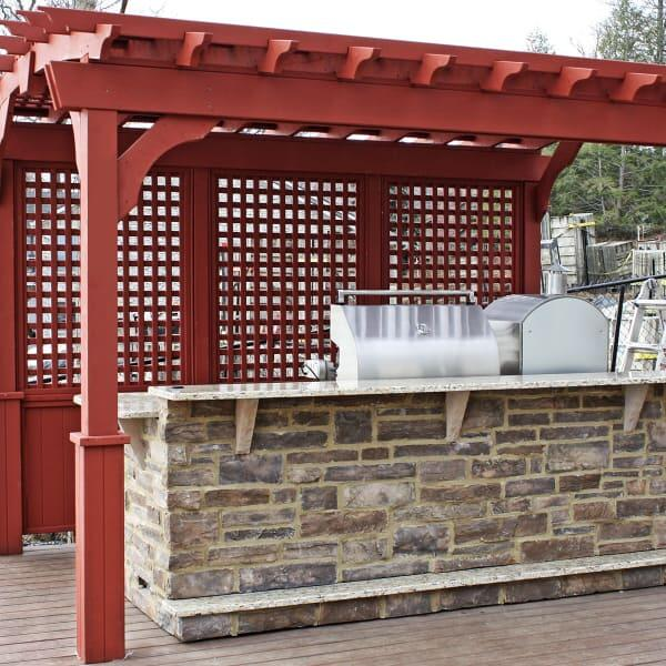 Carnovale Outdoor Kitchen Project by Leisure Select