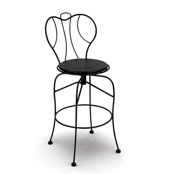 Espresso Swivel Bar Stool by Homecrest