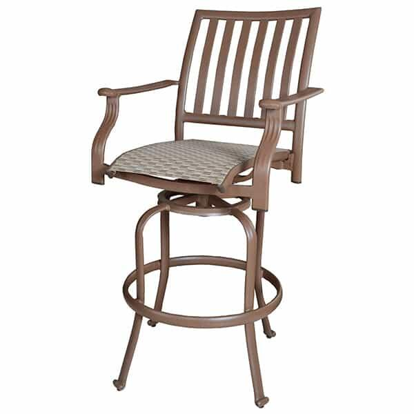 Island Breeze Swivel Bar Stool by Panama Jack