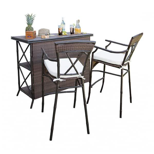 Rum Cay 3 PC Bar Set by Panama Jack