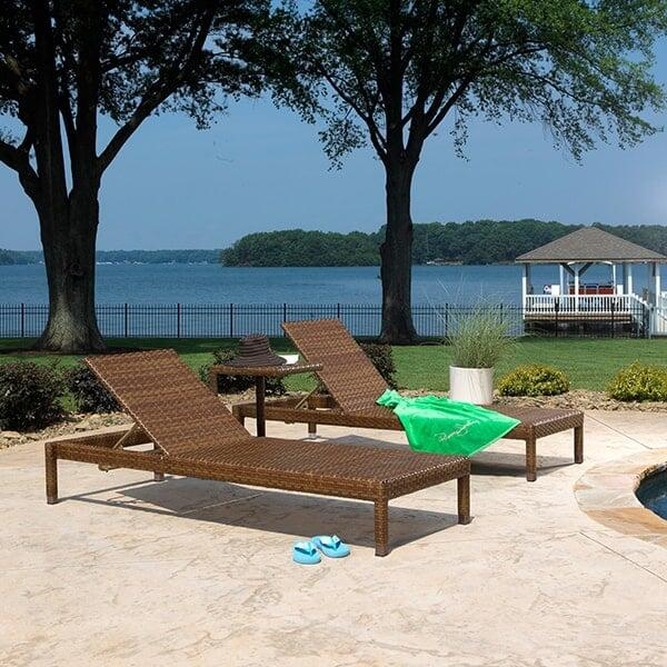 St. Barths 3-PC Chaise Lounge Set by Panama Jack