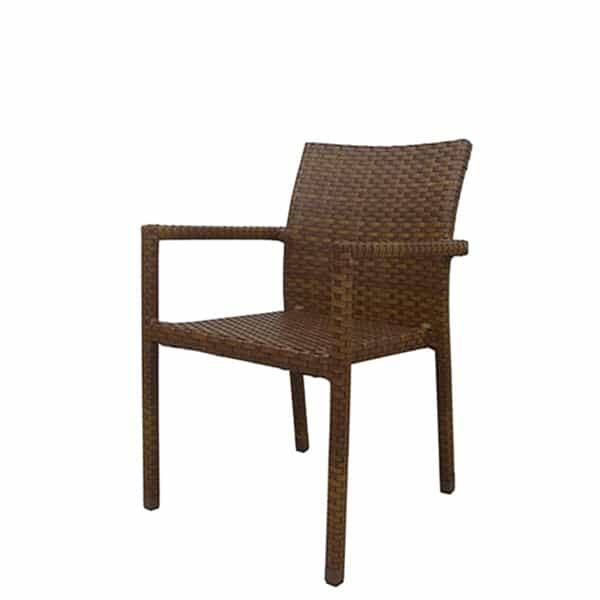St. Barths 5-PC Arm Chair Dining Set by Panama Jack