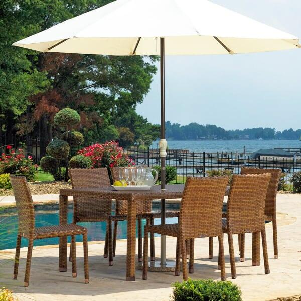 St. Barths 7-PC Rectangular Dining Set by Panama Jack