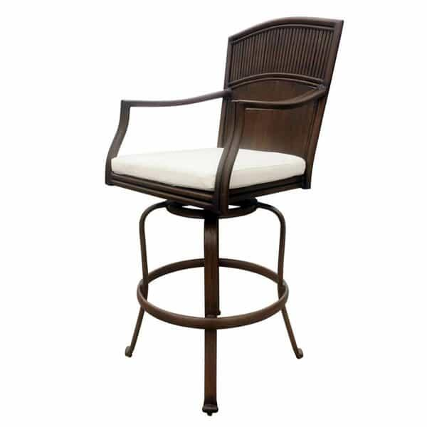Tiki Bar Swivel Barstool by Panama Jack