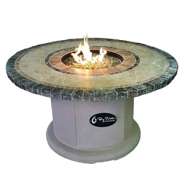 "42"" Mosaic Top Fire Pit Table by Leisure Select"