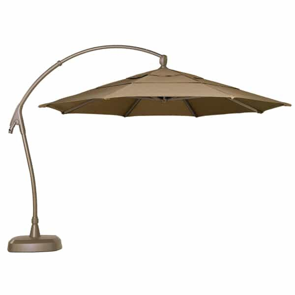 11ft AG28 Cantilevered Umbrella by Treasure Garden