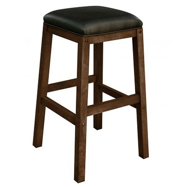 Contempo Backless Bar Stool by Leisure Select