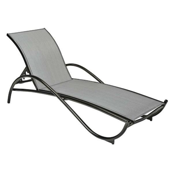 Tribeca Sling Chaise Lounge by Woodard