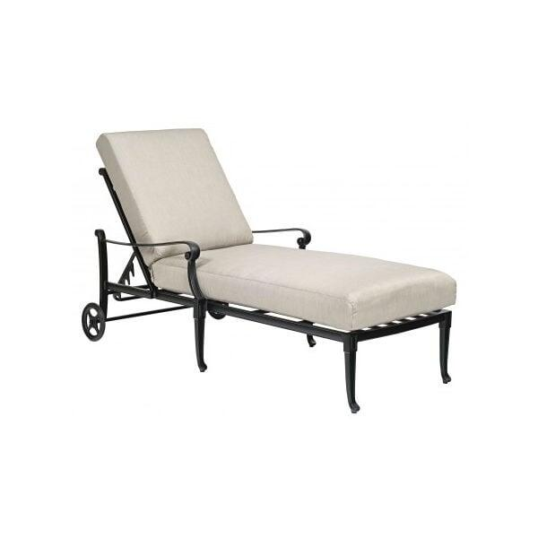 Wiltshire Chaise Lounge by Woodard