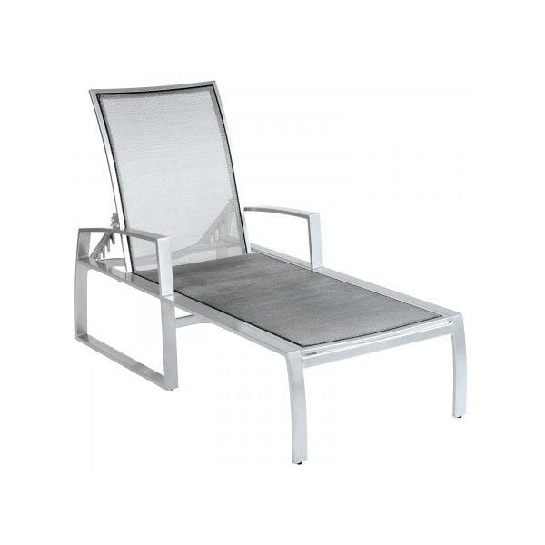 Wyatt Flex Sling Chaise Lounge by Woodard
