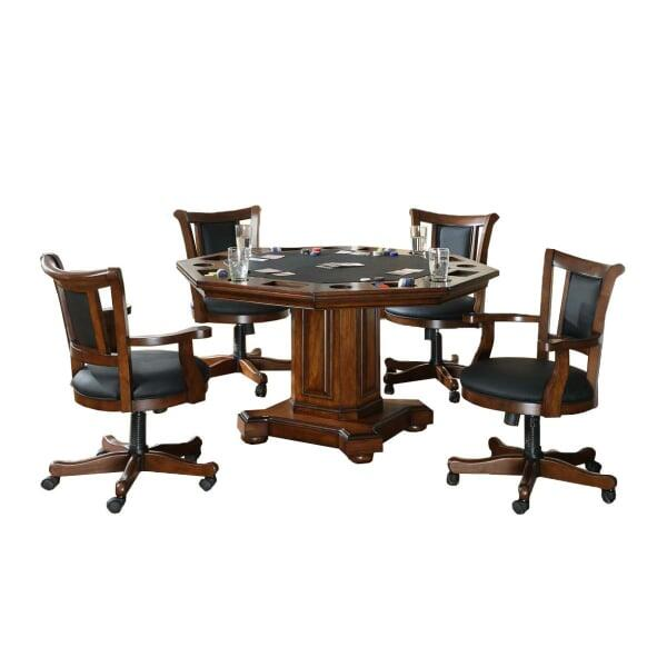 Trinidad 2 in 1 Game Table Set by Leisure Select