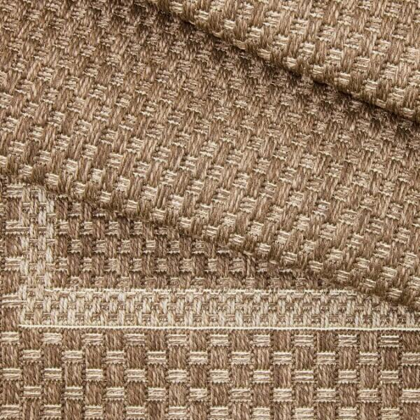 Birmingham Outdoor Rug -- Almond by Treasure Garden