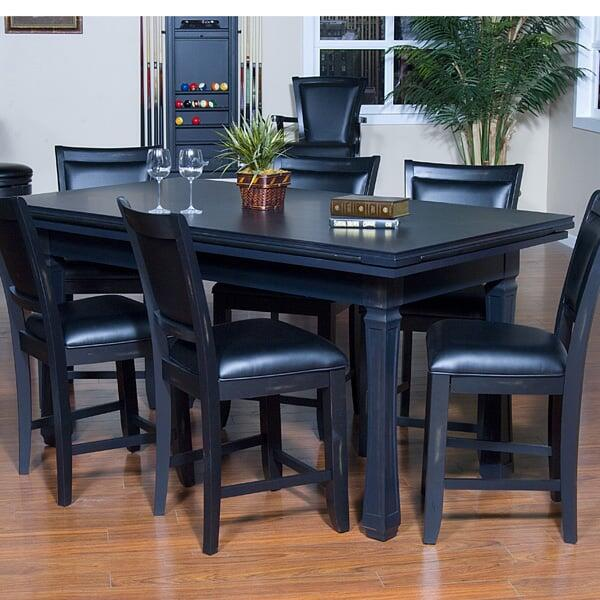 Counter Height Poker Table : Burlington Counter Height 3 in 1 Set by American Heritage