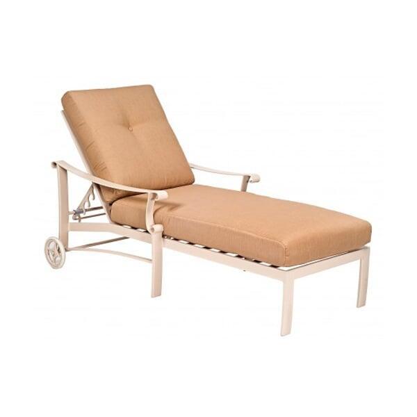 Bungalow Cushion Chaise Lounge by Woodard