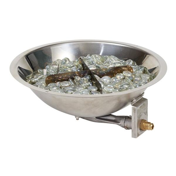 CF12 DIY Crystal Fire Pit Burner by Outdoor GreatRoom