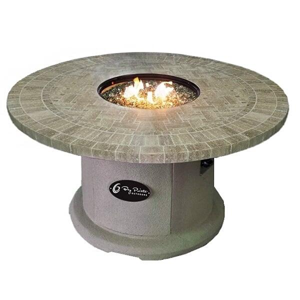 "48"" Travertine Series Fire Table by Bay Pointe Outdoors"