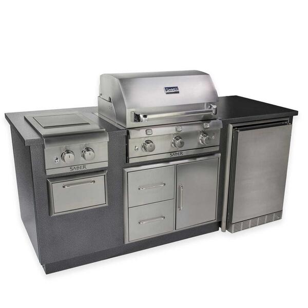 Saber EZ Kitchen R Series Silver