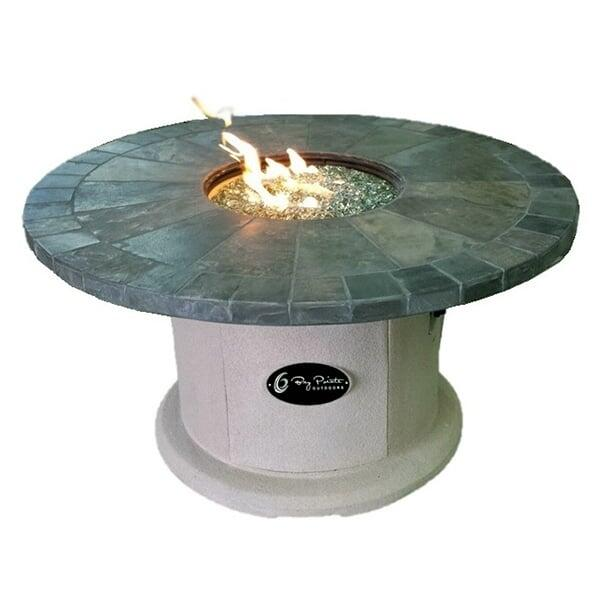"48"" Slate Designer Series Fire Pit Table"