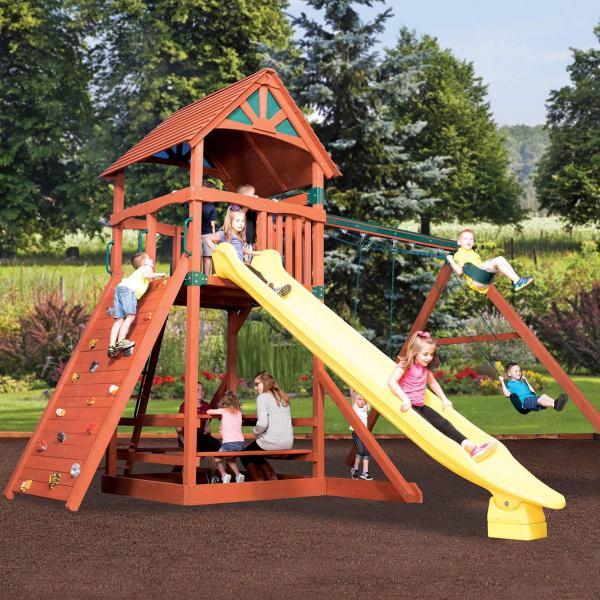 Titan Treehouse Jumbo 2 by Backyard Adventures