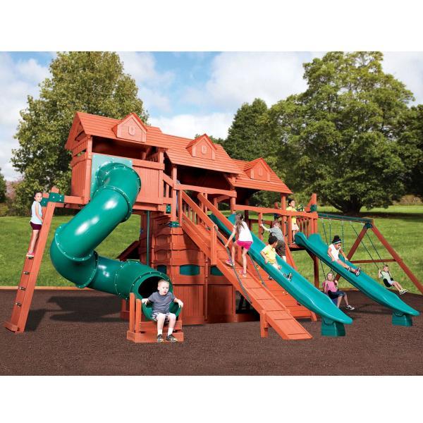 Titan Treehouse Jumbo 5 by Backyard Adventures