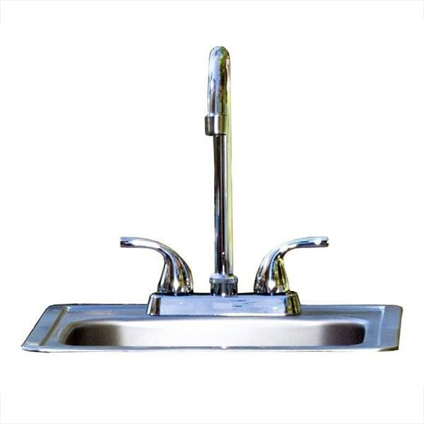 Sink with Faucet by Bull Grills