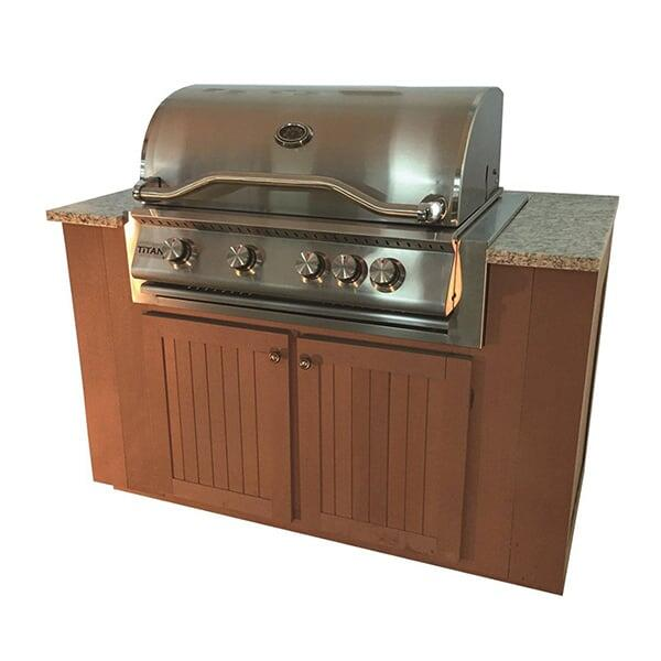 Sequoia Grilling Cabinet by Bay Pointe Outdoors