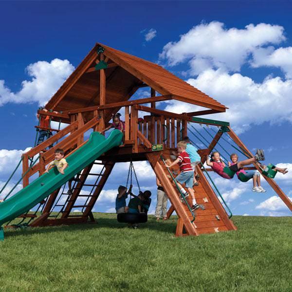 Olympian Peak 2 Play Set by Backyard Adventures