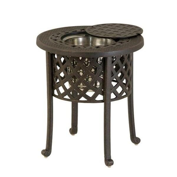 20'' Round Ice Bucket Side Table by Hanamint