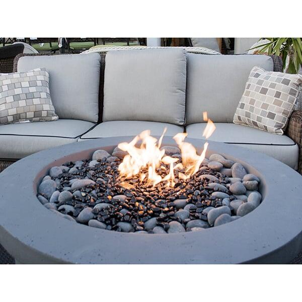 Urban Series Storm Grey Fire Pit by Bay Pointe Outdoors