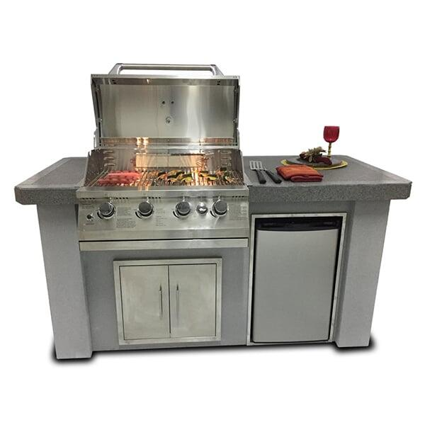 Biscayne Series KD Kitchen 75'' by Bay Pointe Outdoors