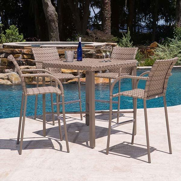 Tremont Bar Height Dining Set by Ebel