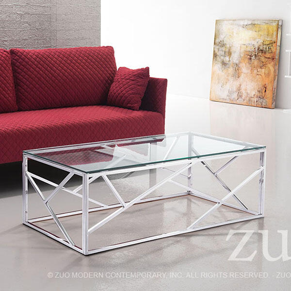 Cage Coffee Table by Zuo Modern