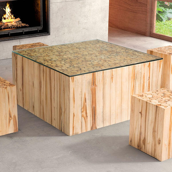 Cave Coffee Table by Zuo Modern
