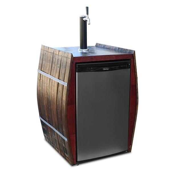 Wine Barrel Kegerator Shell by Vin De Flame