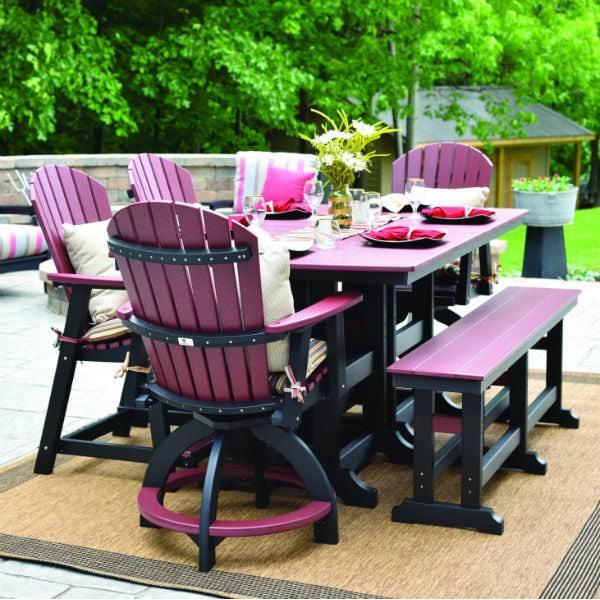 garden dining bench