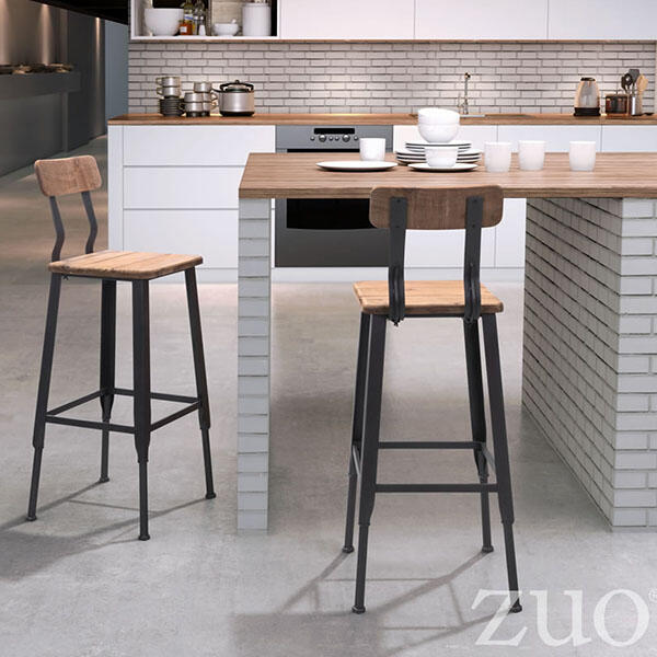 Clay Bar Chair by Zuo Modern