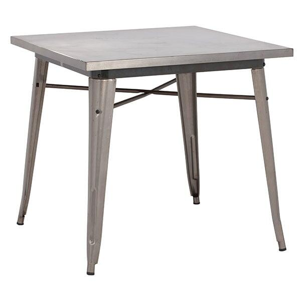 Olympia Dining Table Gunmetal
